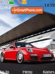 Porsche 911 Red tema screenshot