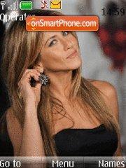Jennifer Aniston 03 theme screenshot
