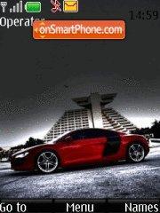 Audi R8 11 theme screenshot