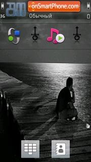 Alone Me theme screenshot