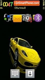 Ferrari 626 theme screenshot