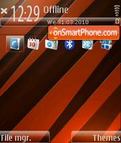 Orange Glass [DI] es el tema de pantalla