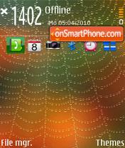 Spider Web theme screenshot