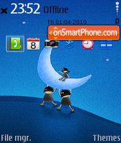 Moon 03 theme screenshot