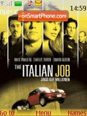The Italian Job 01 theme screenshot