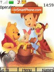 Winnie Pooh 102 es el tema de pantalla