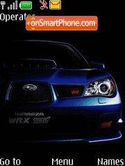 Subaru Impreza wrx sti 01 tema screenshot