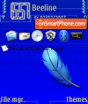 Alone Lovelysara theme screenshot
