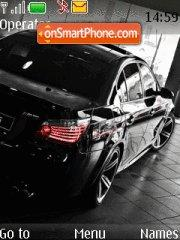 BMW 10 tema screenshot