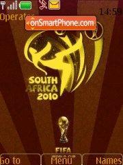 South Africa 2010 01 es el tema de pantalla