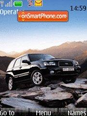 Subaru Forester theme screenshot
