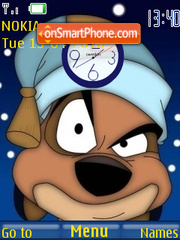 Timon Clock theme screenshot