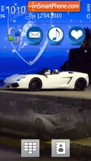 Lamborghini 28 theme screenshot