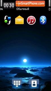 Blue Night 03 es el tema de pantalla