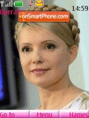 Yulia Timoshenko theme screenshot