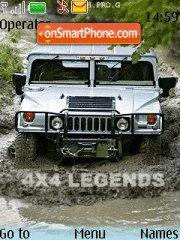 4x4 Legends tema screenshot