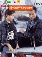 Terminator 2: Judgment Day tema screenshot