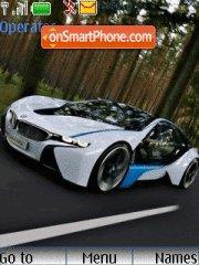 Скриншот темы Concept BMW Vision