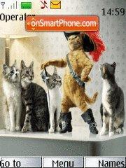 Crazy Cat 01 theme screenshot