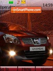 Nissan Qashqai theme screenshot