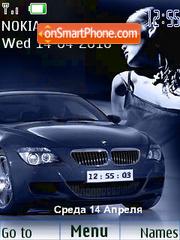 BMW SWF Clock 01 es el tema de pantalla