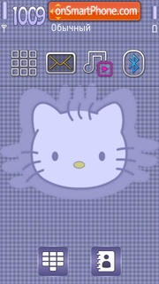 Kitty Dots theme screenshot