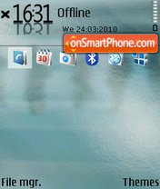 Experyment theme screenshot