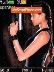 Lara Croft 05 theme screenshot