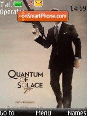 007 Quantum of Solace 01 theme screenshot