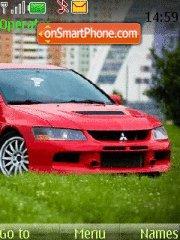 Mitsubishi Evo 9 theme screenshot