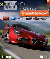 Скриншот темы Alfa Romeo 148