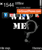 Why Me theme screenshot