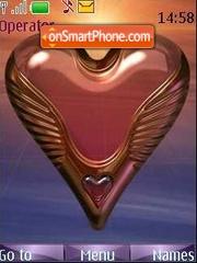Capture d'écran Heart thème