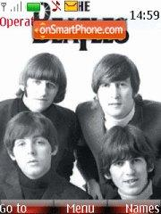 The Beatles theme screenshot