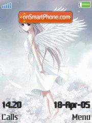 Anime angels es el tema de pantalla