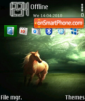 Dark Horse 02 theme screenshot