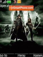 Van Helsing 03 theme screenshot