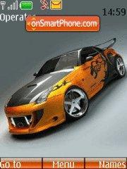 Nissan 350z 11 theme screenshot