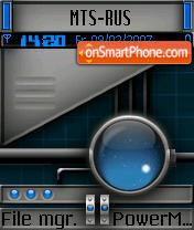 Zion theme screenshot