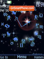 Zodiac (swf 2.0) tema screenshot