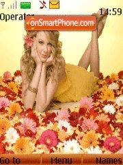Скриншот темы Taylor Swift 01
