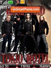 Tokio Hotel Humanoid theme screenshot
