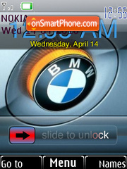 Скриншот темы BMW Flash 2.0