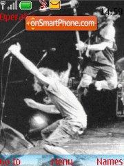Pearl Jam theme screenshot