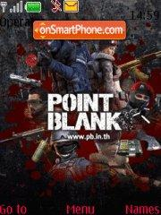 Point Blank theme screenshot