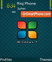 Windows-7 es el tema de pantalla