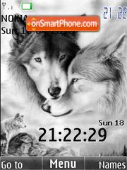 Wolfs (swf 2.0) theme screenshot