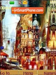 City streets tema screenshot