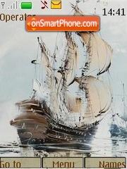 Sailing vessel theme screenshot