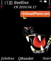 BlackPanther theme screenshot